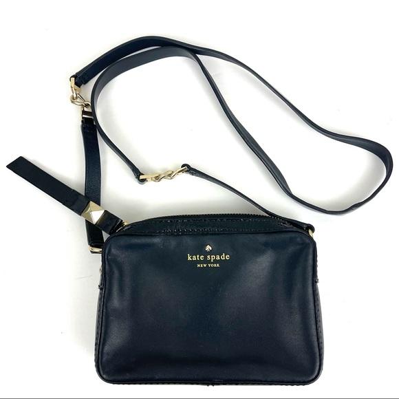 Kate Spade Clover Leather Crossbody Bag